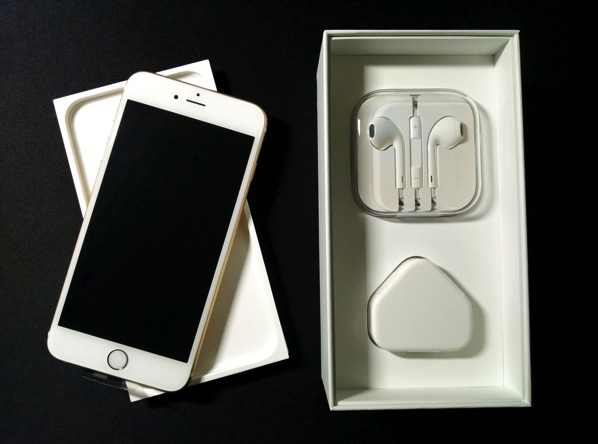 iPhone 6S Plus - unboxed accessories