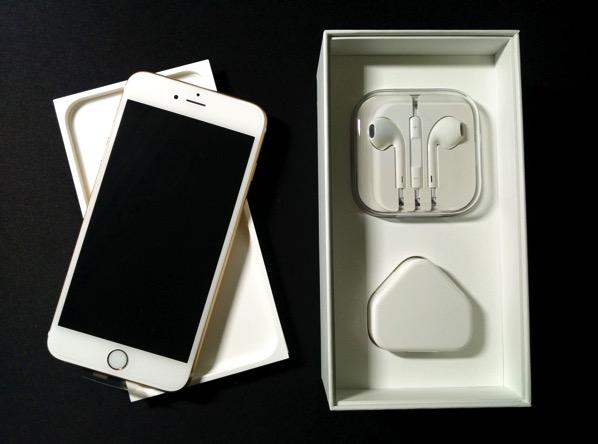 iPhone 6S Plus - unboxed accessories