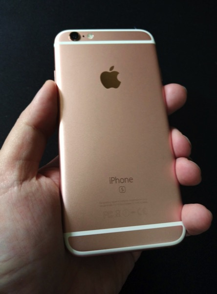 iPhone 6S Rose Gold - on hand