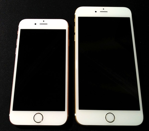iPhone 6S vs iPhone 6S Plus - size