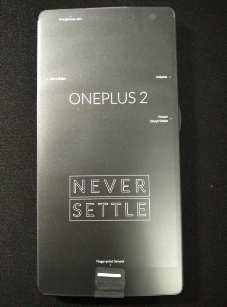OnePlus Two - Front sealed