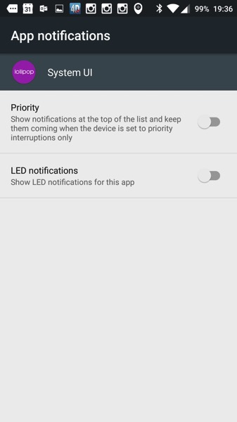 OnePlus Two - Oxygen OS2.1 - Priority Notifications