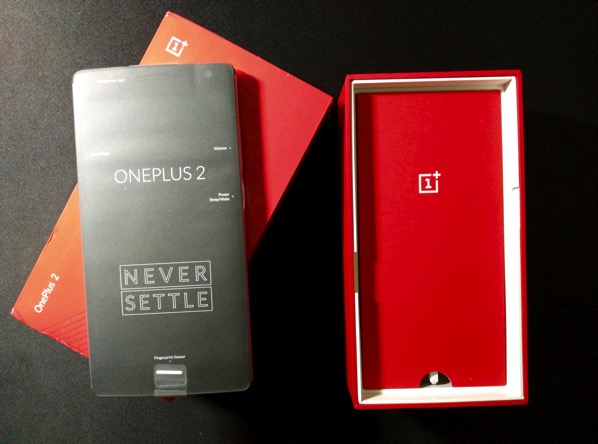 OnePlus Two - Unboxed Front Unloaded