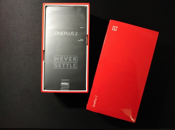 OnePlus Two - Unboxed Front
