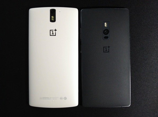 OnePlus Two vs OnePlus One - back