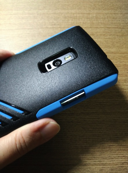 OtterBox for OnePlus 2 - Blue - Camera area