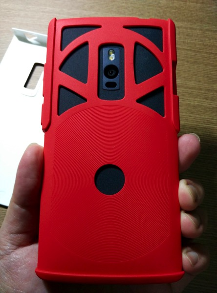 OtterBox for OnePlus 2 - Red - Setup - inner layer up