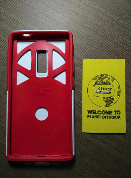 OtterBox for OnePlus 2 - Red - Setup starts