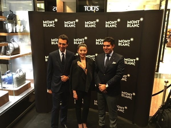 SG Montblanc boutique launch event - Guest of Honour