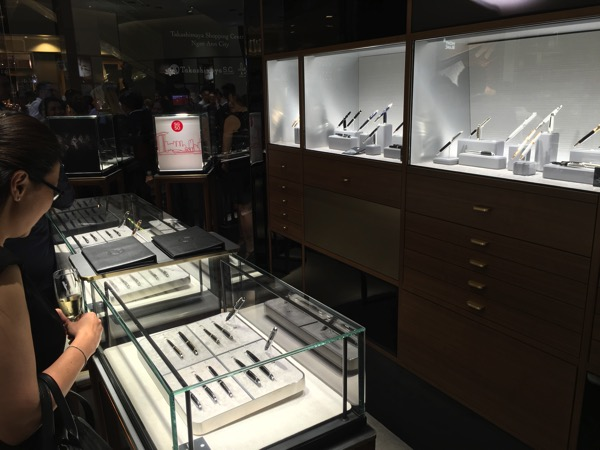 SG Montblanc boutique launch event - pens