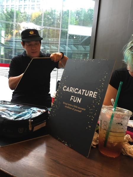 Starbucks Cheer Party - Caricature Fun
