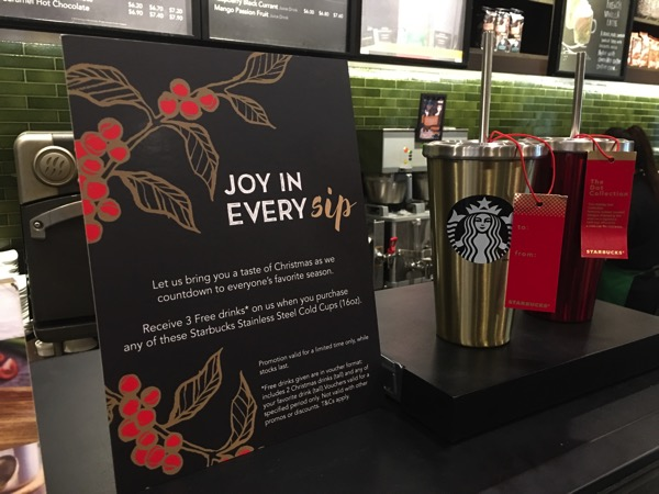 Starbucks Cheer Party - Christmas collectables 3