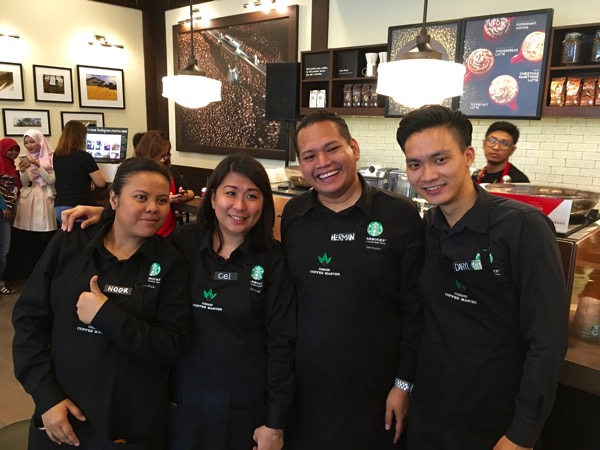Starbucks Cheer Party - Coffee experience team