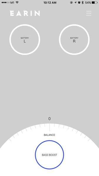 Earin earphones - connected in App.jpg