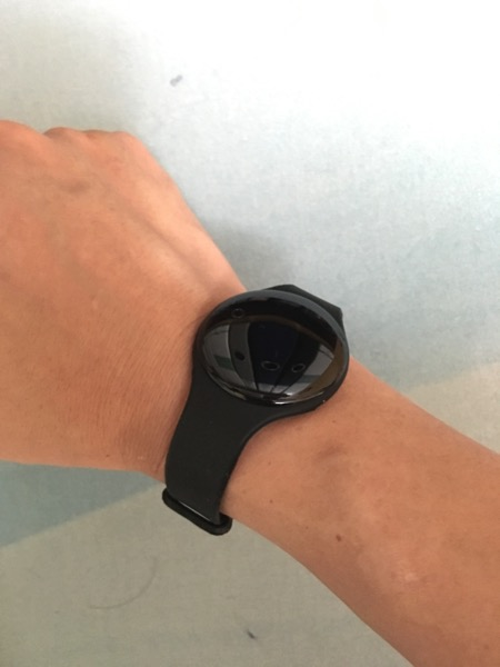 HPB National Steps Challenge - tracker on wrist (front)