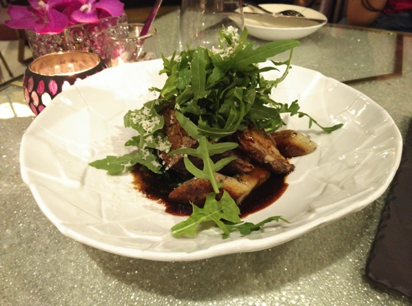 Sofitel Xperience Restaurant & Bar - Braised Short Ribs with Truffle gnocchi and Parmesan