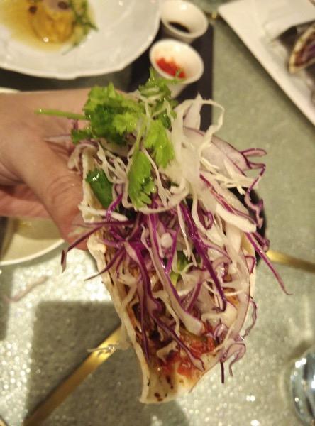 Sofitel Xperience Restaurant & Bar - Chilli Crab Tacos 2