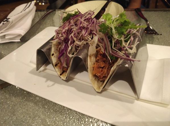 Sofitel Xperience Restaurant & Bar - Chilli Crab Tacos
