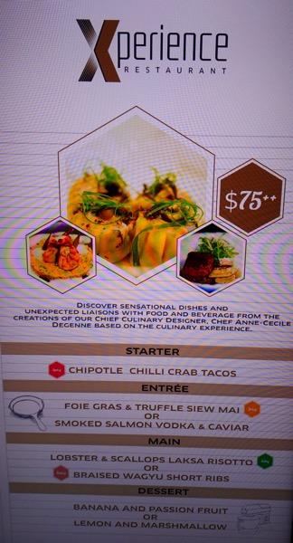 Sofitel Xperience Restaurant & Bar - dinner set menu (Weekend)