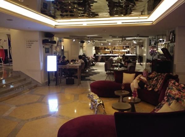 Sofitel Xperience Restaurant & Bar - entrance