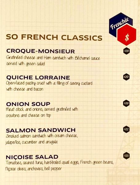 Sofitel Xperience Restaurant & Bar - menu pg1