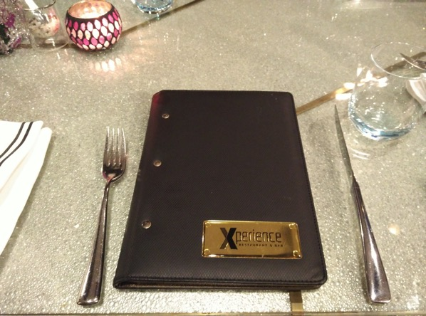 Sofitel Xperience Restaurant & Bar - table top