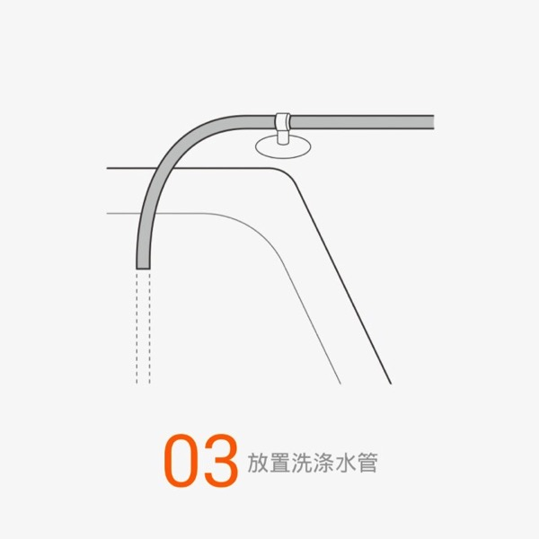 Xiaomi Water Purifier (小米净水器) - assembly steps - Step 3 overview