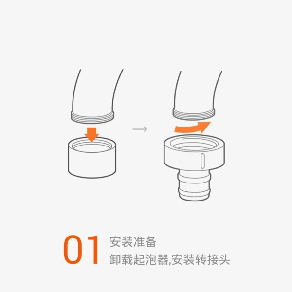 Xiaomi Water Purifier (小米净水器) - assembly steps - Step 1 overview