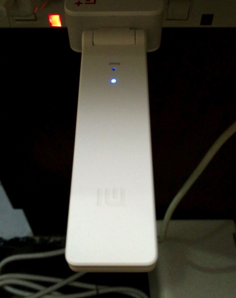 Xiaomi Wifi Extender (小米WiFi放大器) - setup - dongle connection on