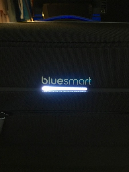 Bluesmart luggage - Luggage connected