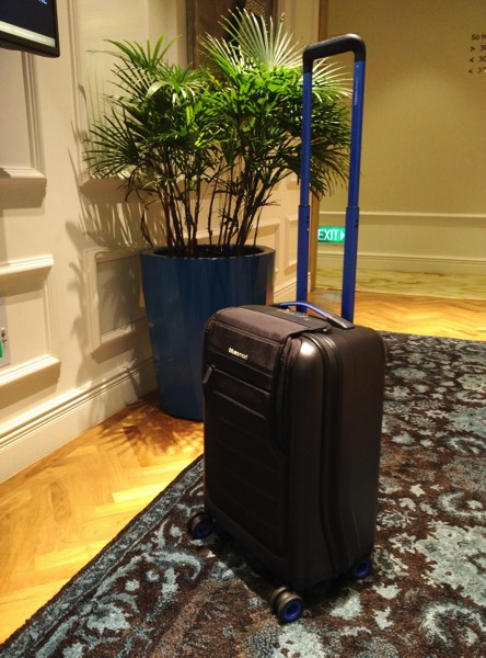 Bluesmart luggage - full view