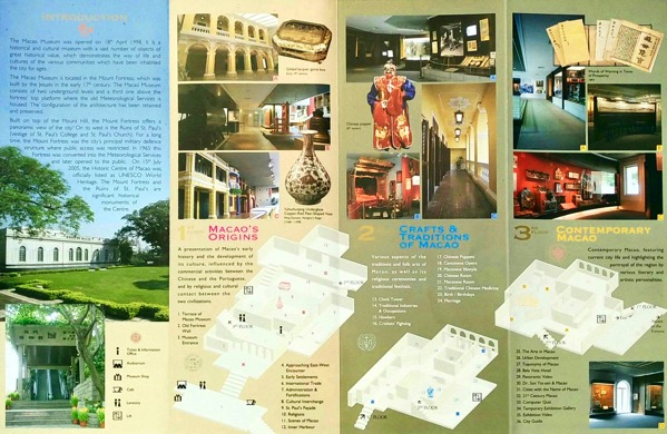 Macau Guide - Macau Museum - map