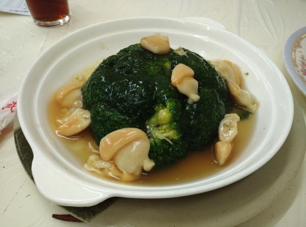 Macau Guide - Seng Cheong Restaurant - Brocolli