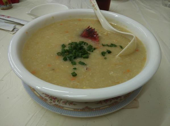 Macau Guide - Seng Cheong Restaurant - Crab Porridge 1