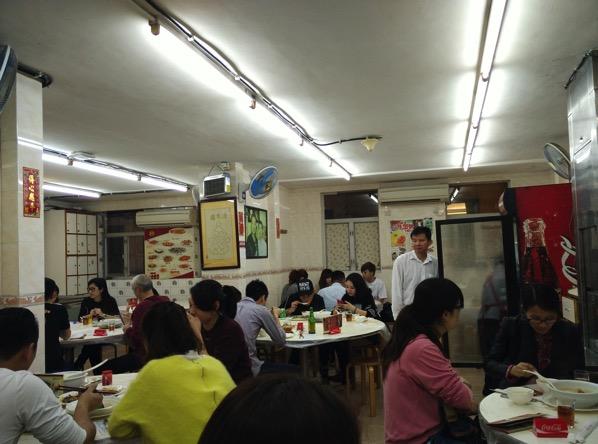 Macau Guide - Seng Cheong Restaurant - Inside