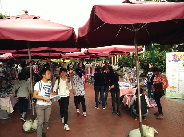 Macau Guide - Taipa Village - Flea Market stores