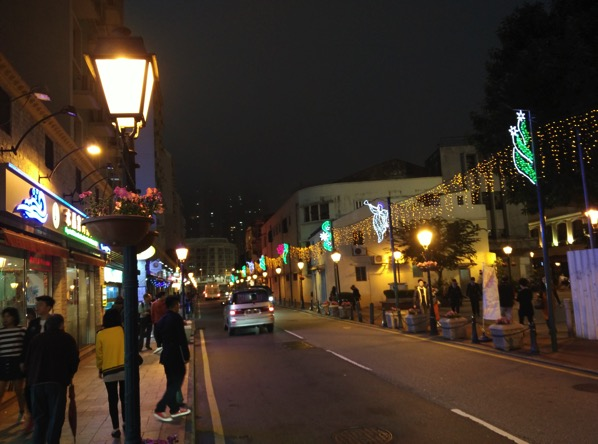 Macau Guide - Taipa Village - night view