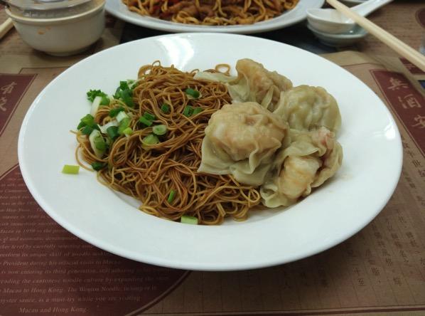 Macau Guide - Wong Chi Kei - Shrimp Wonton Noodles
