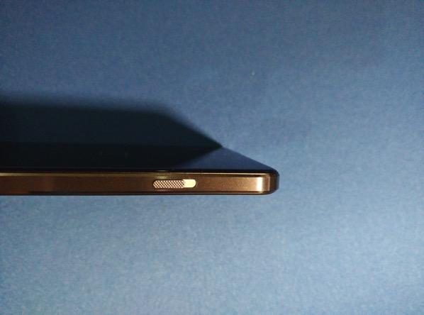 OnePlus X - left side panel