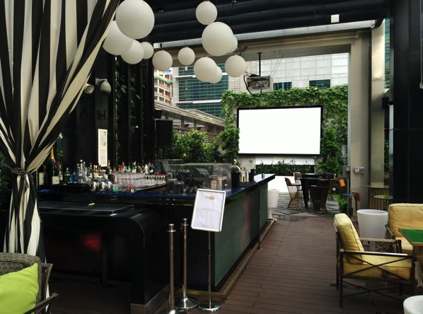 Sofitel So Singapore - Rooftop bar