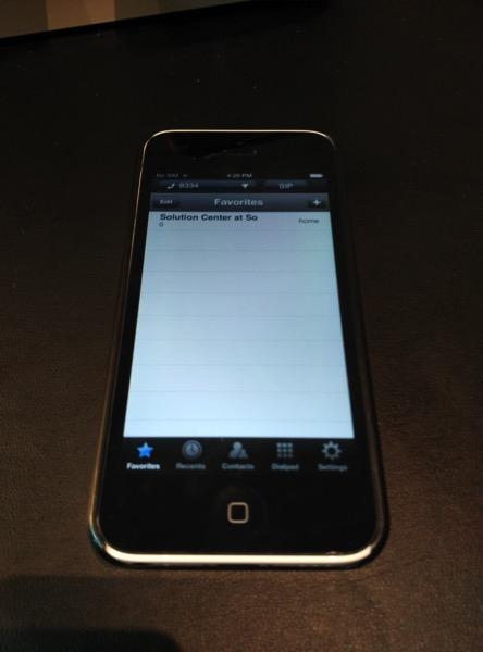 Sofitel So Singapore - iPod Phone