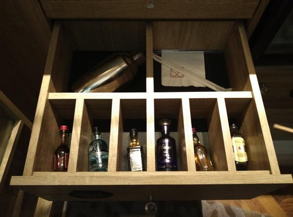 Sofitel So Singapore - items in cabinet 2