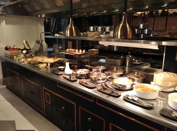 Sofitel So Singapore - restaurant - buffet line 1