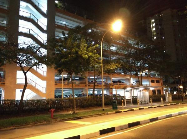 iPhone 6S Plus - night scene