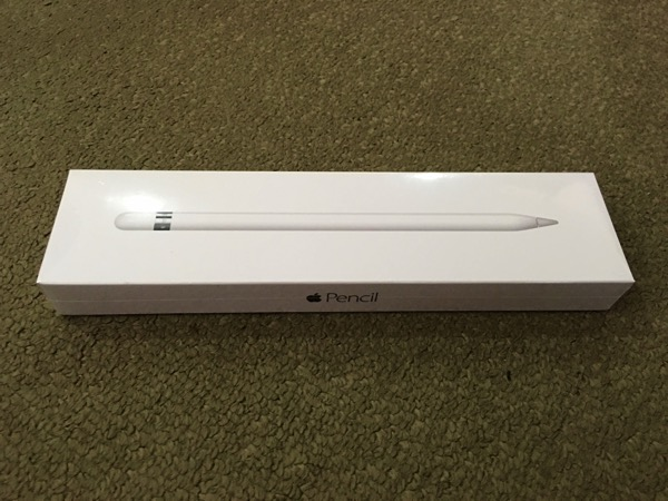 Apple iPad Pro - Apple Pencil - Packaging