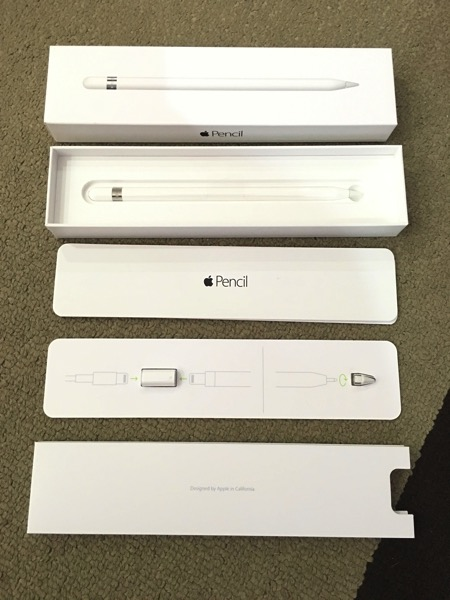Apple iPad Pro - Apple Pencil - Unbox