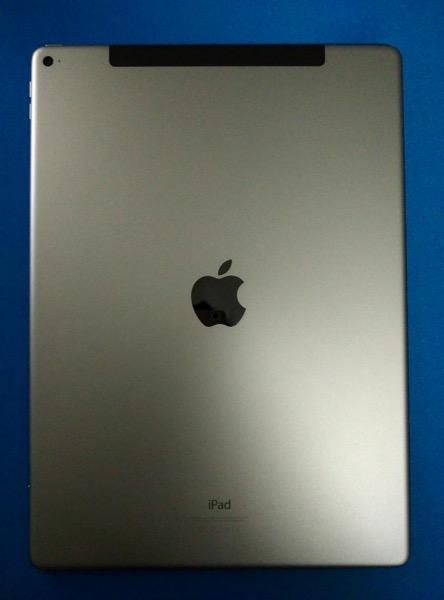 Apple iPad Pro - back view