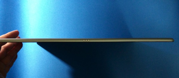 Apple iPad Pro - left side view