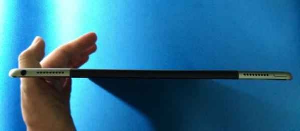 Apple iPad Pro - top stereo speakers