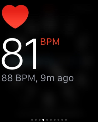 Mi Band Pulse (小米手环光感版) - workout - Heart Rate by Apple Watch